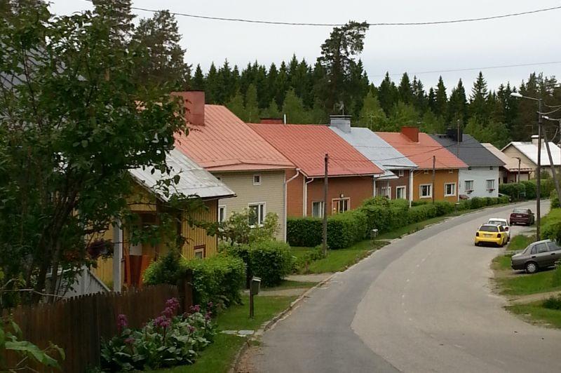 Kuopion Niiralan talot on rakennettu suurilta osin 40-60-luvuilla.