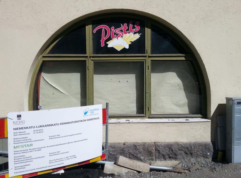 Talon alakerrassa toimi  Onttisen mukaan aiemmin lounasravintola.