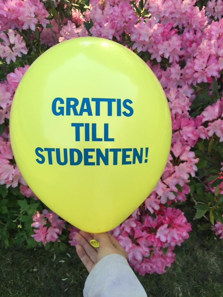 Onnea ylioppilaalle!