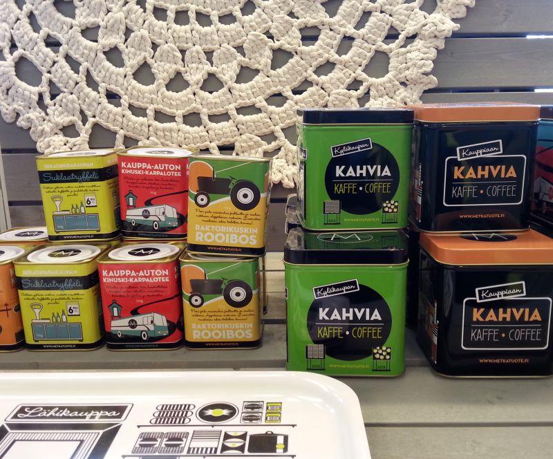 Taito Kuopion tuotteissa riittää värejä.