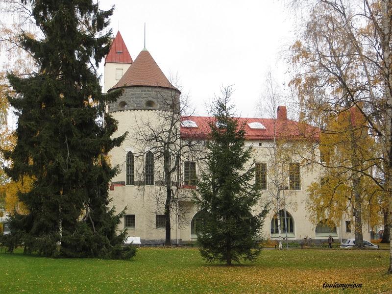 Kuopion museo, vuonna 1907 valmistunut jugend-tyylinen rakennus