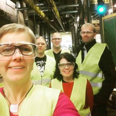 Ponssen tehtaalla