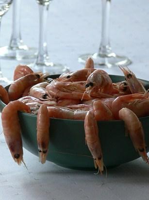 Tuoreiden, kokonaisten katkarapujen kuoren alta paljastuu kevyen suolainen ja maukas äyriäisherkku, jossa on selkeä merellisen makeahko vivahde.