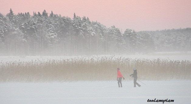 hiihtäjät