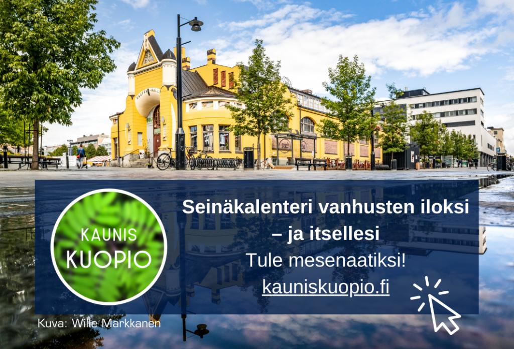Kaunis Kuopio -joukkorahoituskampanja.