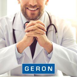 Lääkäri.